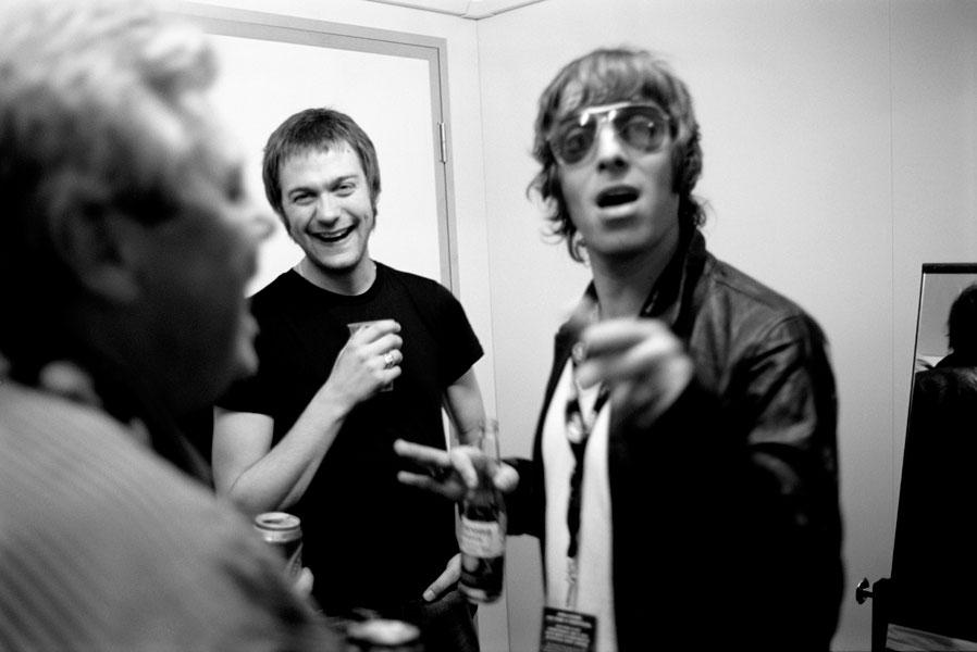 Tom Meighan and Liam Gallagher.