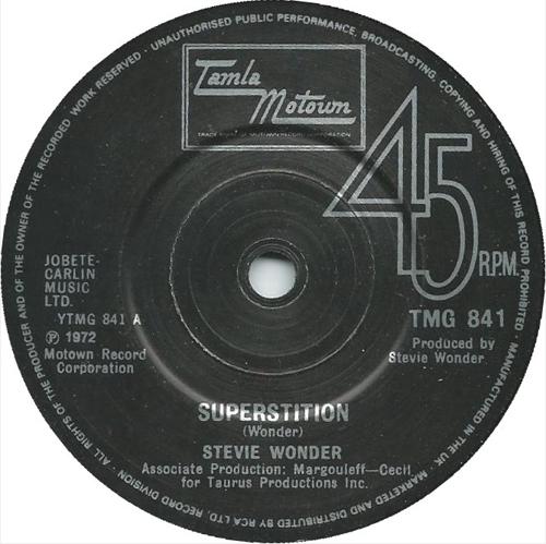 Stevie Wonder - 'Superstition'