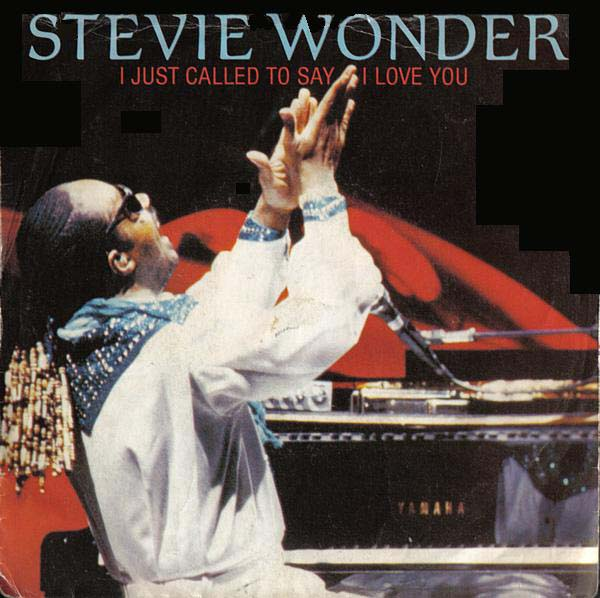 12. Stevie Wonder – 'I Just Called To Say I Love You'