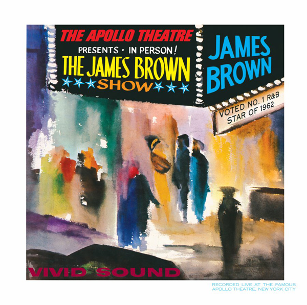 James Brown, 'Live At The Apollo'