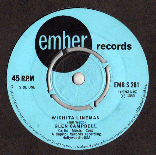 Glen Campbell - 'Wichita Lineman'