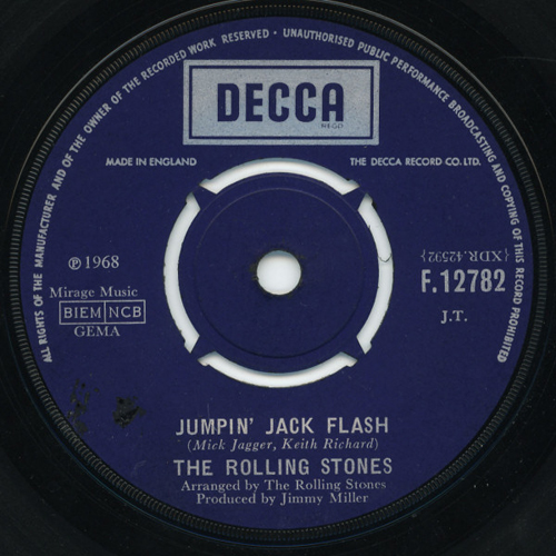 The Rolling Stones - 'Jumpin' Jack Flash'