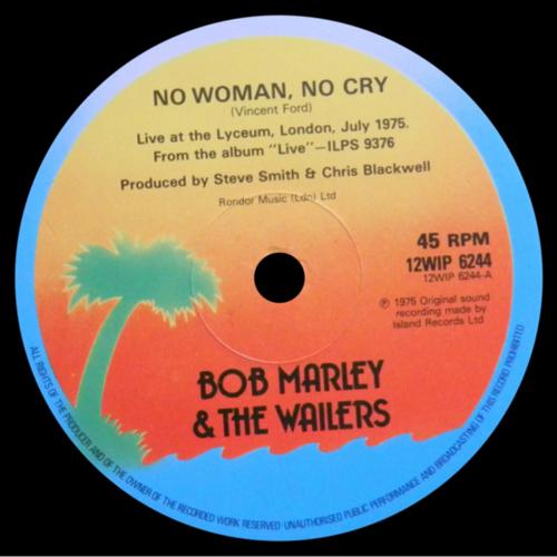 Bob Marley - 'No Woman, No Cry'