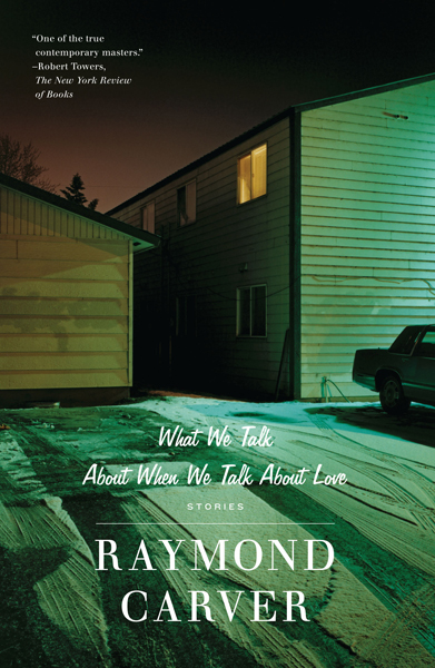 Charles Watson, Snow Club: <i>What We Talk About When We Talk About Love</i> by Raymond Carver.