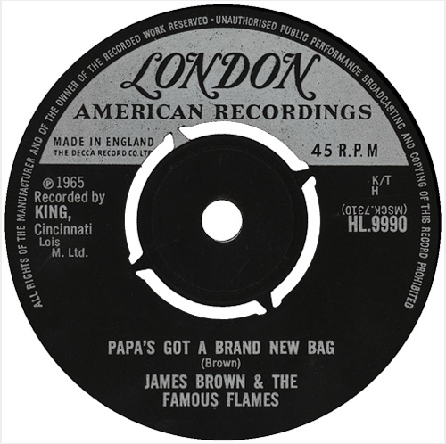 James Brown - 'Papa's Got A Brand New Bag'