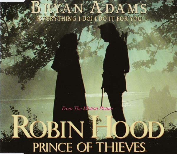 17. Bryan Adams – '(Everything I Do) I Do It For You'