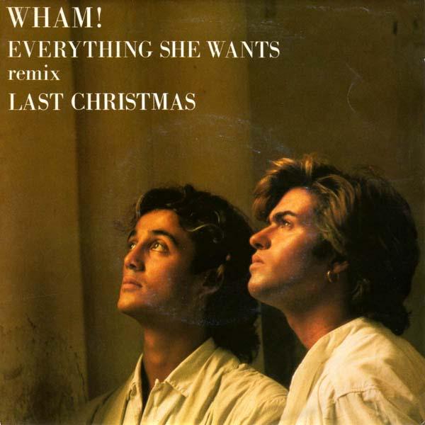 18. Wham! – 'Last Christmas'/'Everything She Wants'