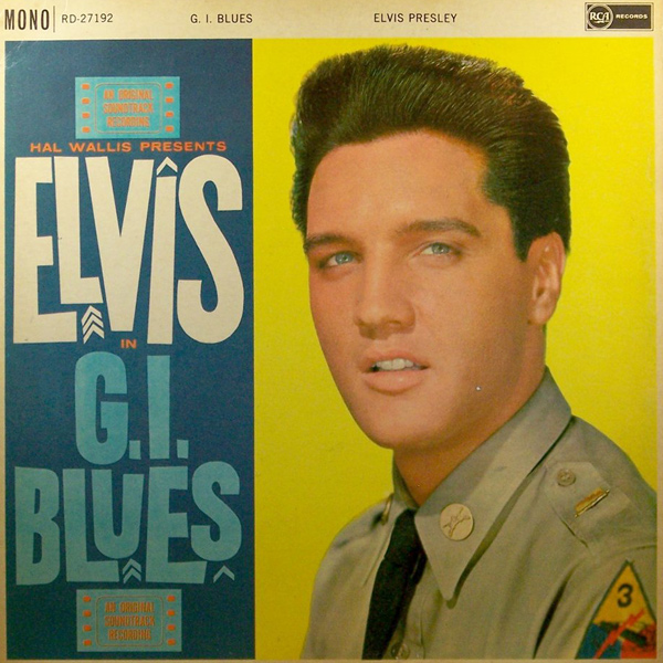 Elvis Presley's 1961 release 'G.I. Blues'
