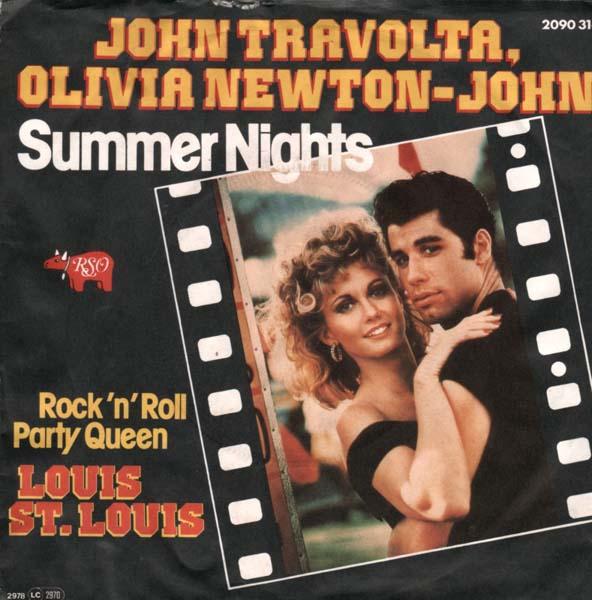 20. John Travolta & Olivia Newton-John – 'Summer Nights'