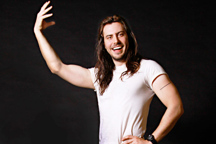 The 41-year old son of father (?) and mother(?) Andrew W.K. in 2021 photo. Andrew W.K. earned a  million dollar salary - leaving the net worth at  million in 2021
