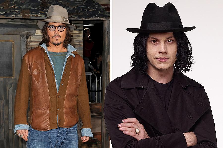 Johnny Depp as Jack White