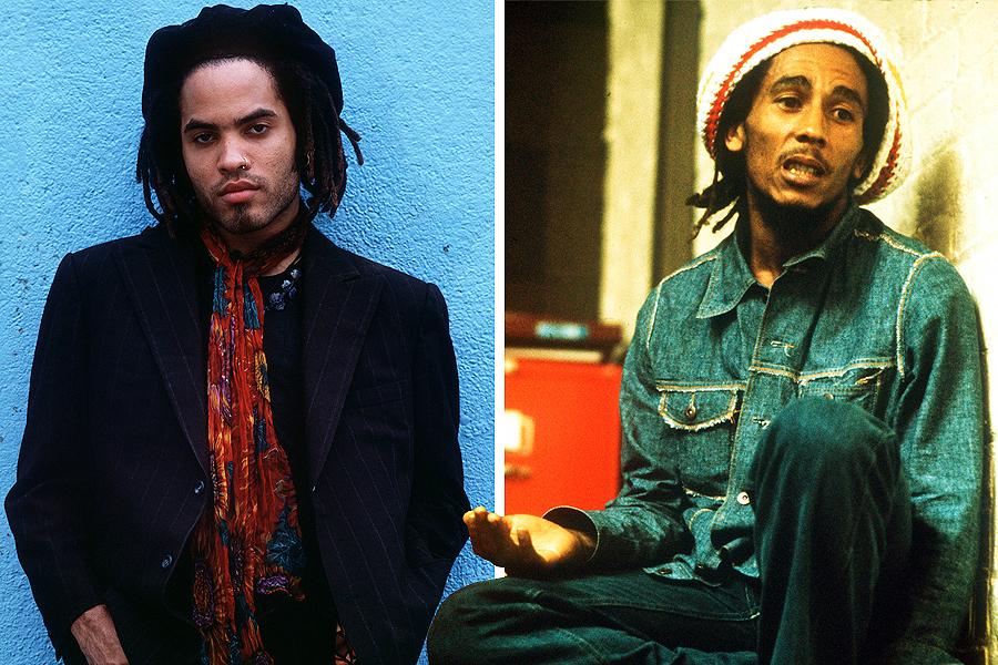 Lenny Kravitz as Bob Marley
