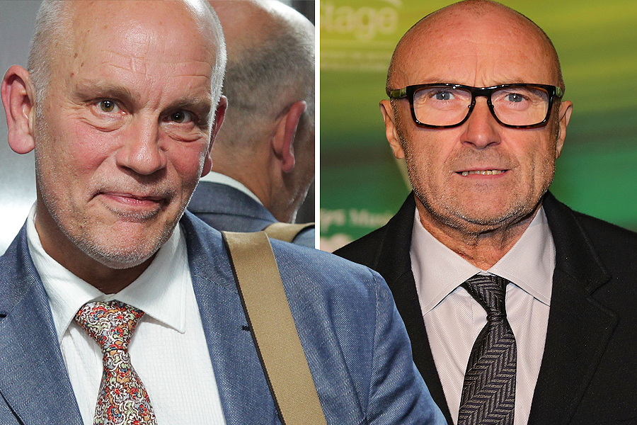 John Malkovich as Phil Collins
