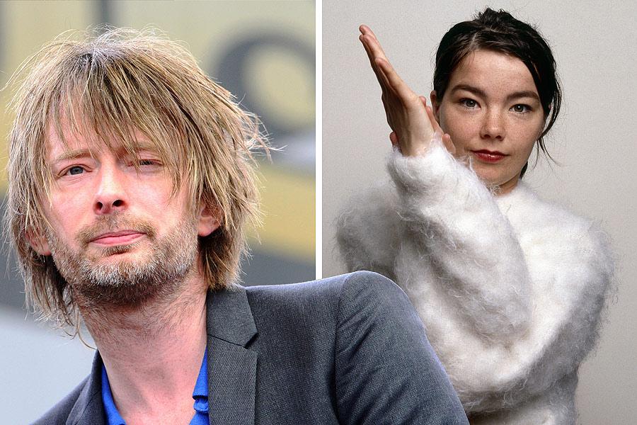 Bjork as Thom Yorke