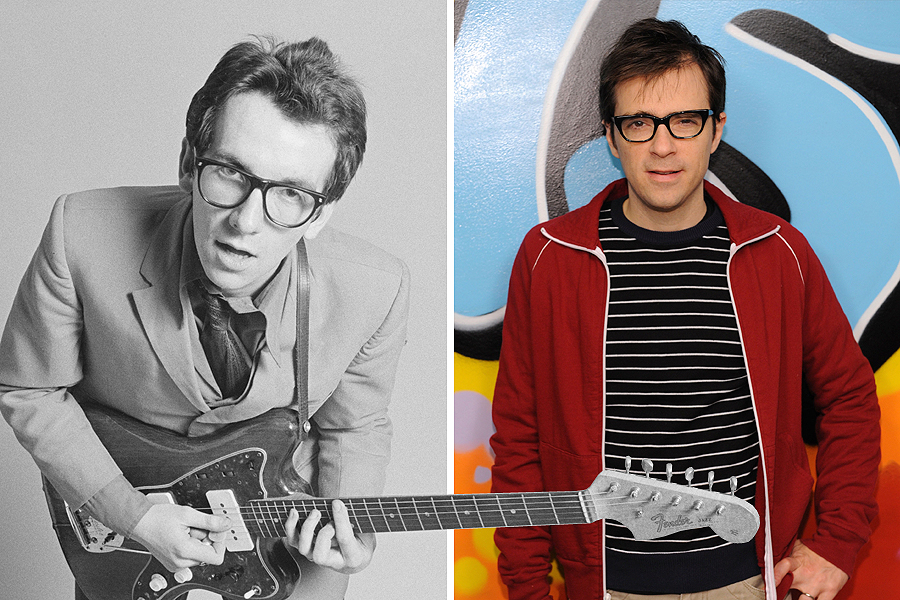 Rivers Cuomo as Elvis Costello