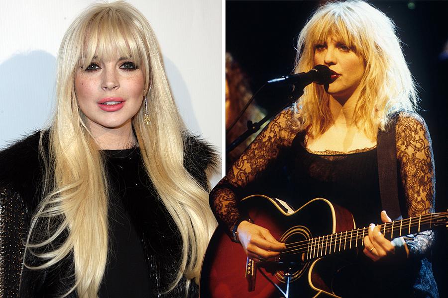 Lindsay Lohan as Courtney Love
