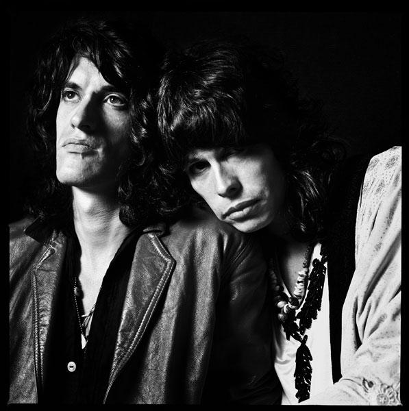 Joe Perry and Steven Tyler, 1985