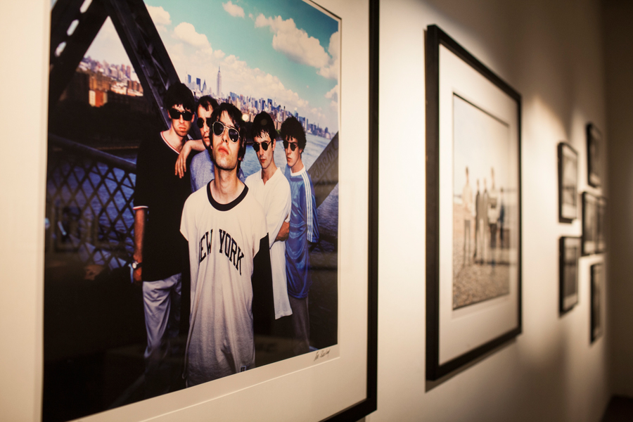 13 Revealing Images From Oasis S Chasing The Sun Exhibition Nme