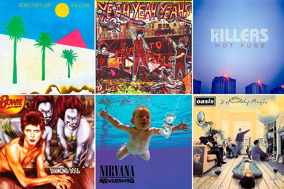 50 Iconic Indie Album Covers The Fascinating Stories