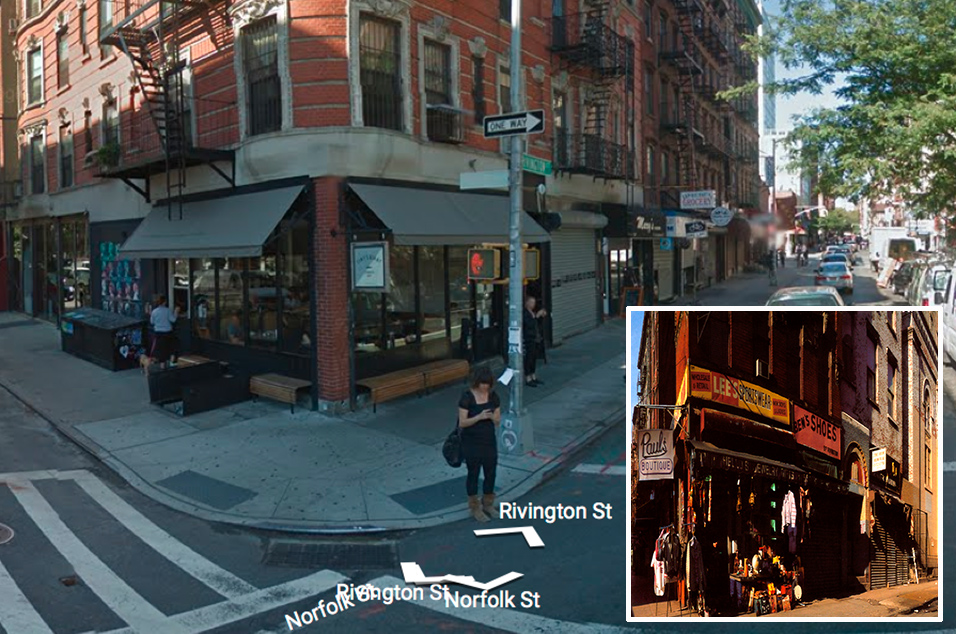 Beastie Boys, 'Paul's Boutique' – Corner of Ludlow St and Rivington St, New York