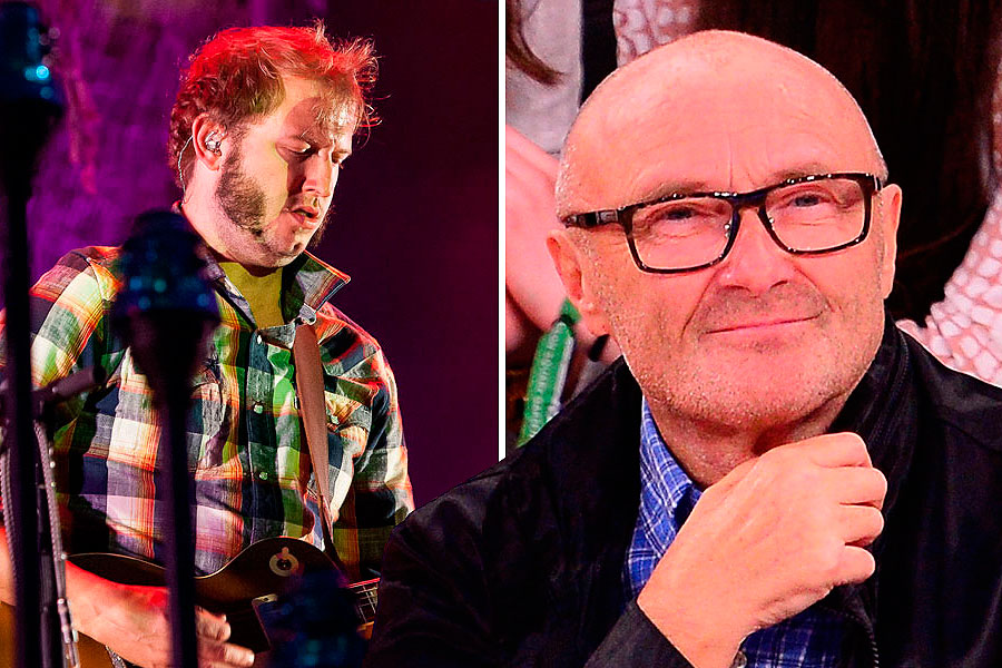 Phil Collins and Bon Iver