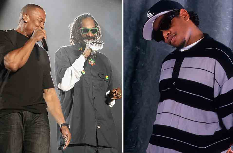 Eazy-E vs Dr. Dre And Snoop Dogg - 'Real Muthaphuckkin G's'