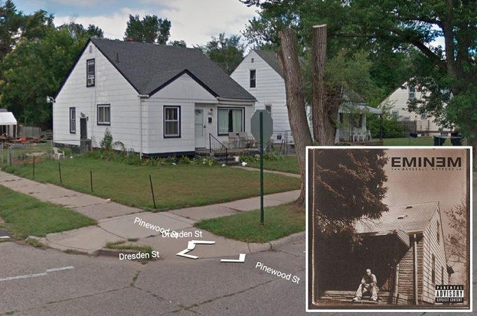 Eminem, 'Marshall Mathers' - 19446 Dresden St, Detroit