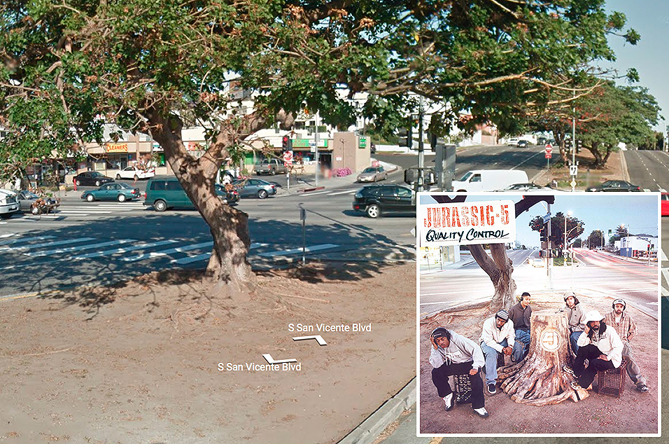 Jurassic 5, 'Quality Control' - San Vincente Blvd and La Brea Ave, LA