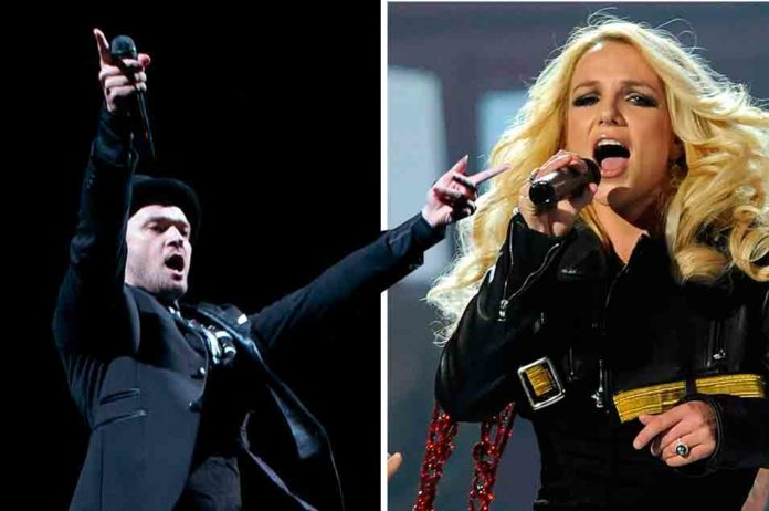 Justin Timberlake vs Britney Spears - 'Cry Me A River'