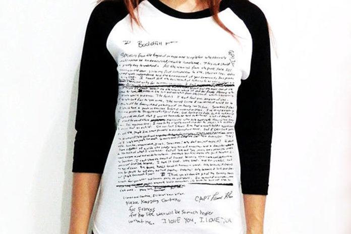 Kurt Cobain Nirvana Legend T Shirt Black