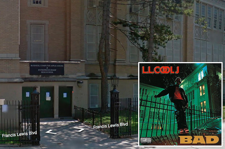 LL Cool J, 'Bigger & Deffer (Bad)' – Andrew Jackson High School, Queens