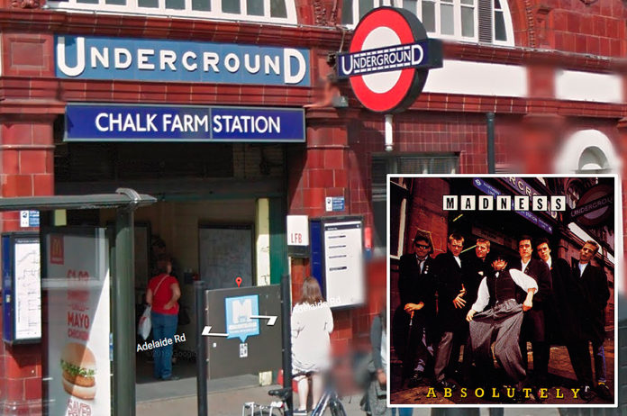 Madness, 'Absolutely' - Chalk Farm Underground