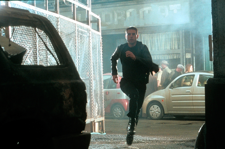 The ending of 'Minority Report' is a fantasy created by Tom Cruise's character while he languishes in captivity
