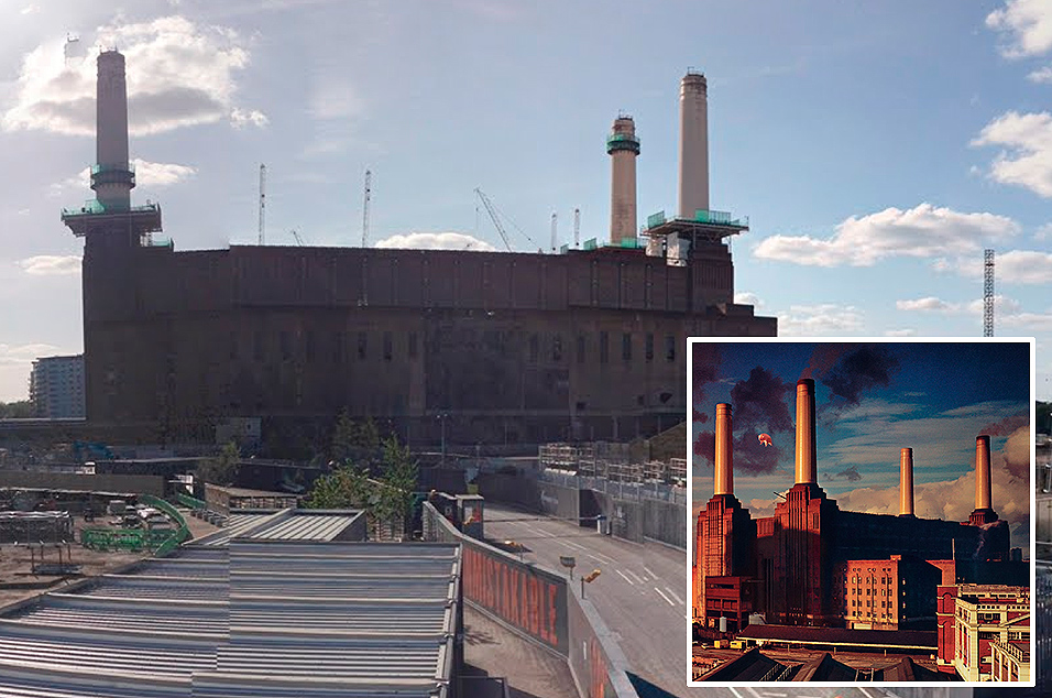 Pink Floyd, 'Animals' - Battersea Power Station