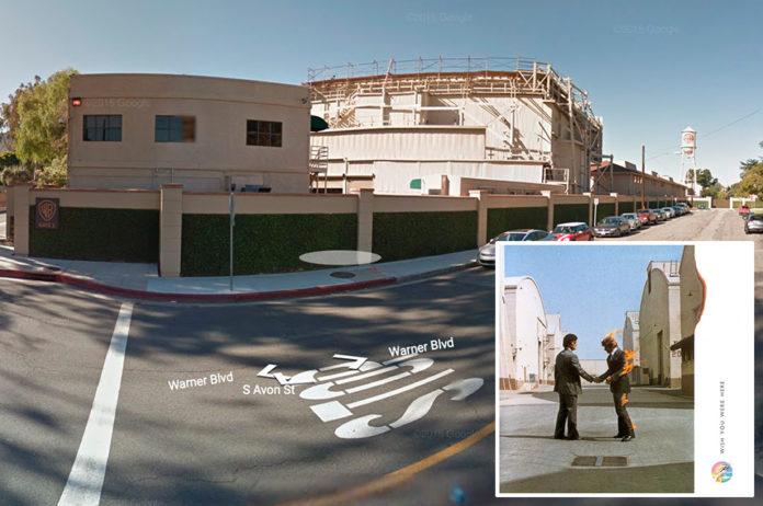Pink Floyd, 'Wish You Were Here' - Warner Bros Studio complex, California