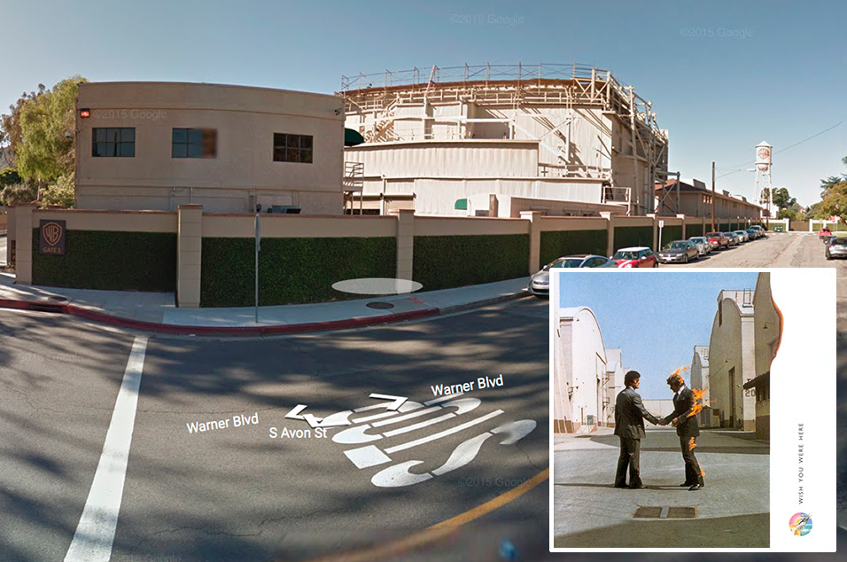 Pink Floyd, 'Wish You Were Here' - Warner Bros Studio complex, California