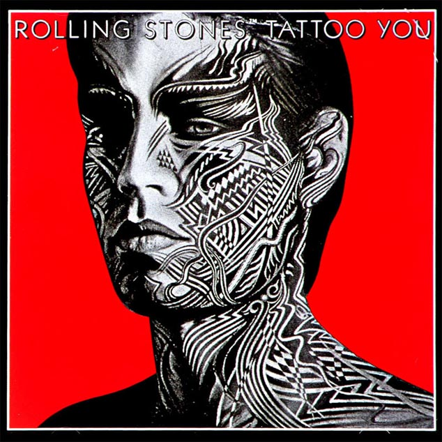 tattoo stones rolling album cd artwork covers peter 1981 corriston deconstruction lp rock fine rollingstones music nme poster grammy albums