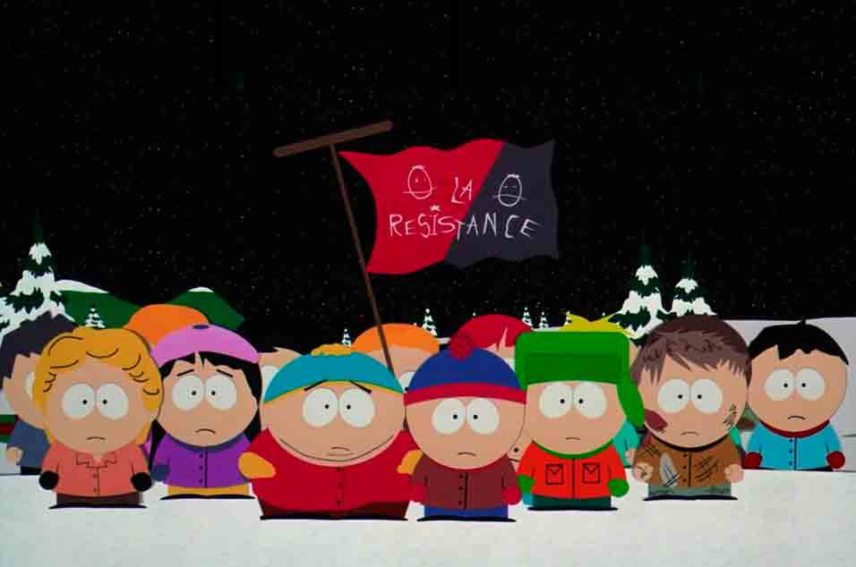 South Park: Bigger, Longer and Uncut – basically everywhere