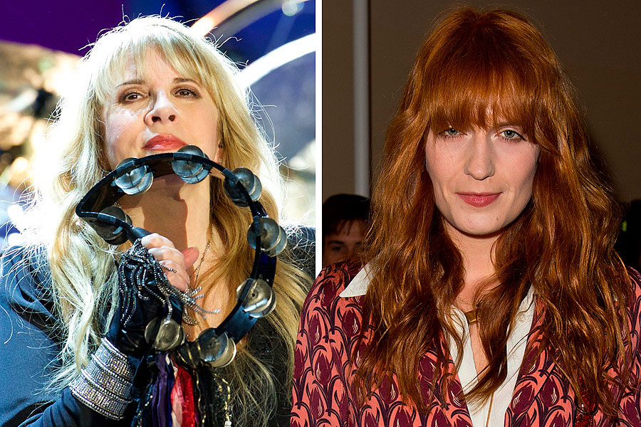 Stevie Nicks and Florence Welch