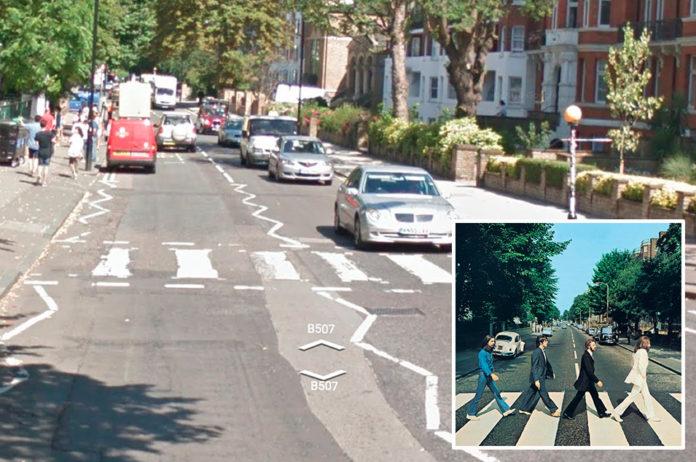 The Beatles, 'Abbey Road' – Abbey Road, London