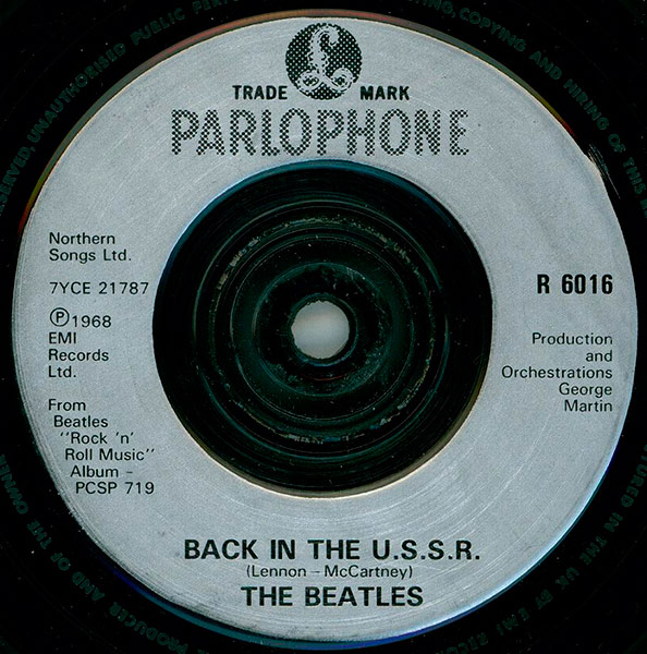 57. Back In The USSR