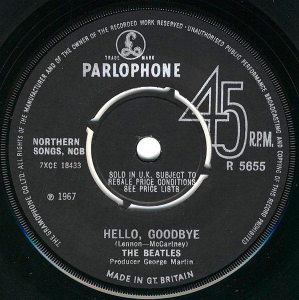 91. Hello Goodbye