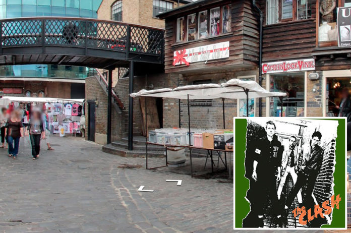 The Clash, 'The Clash' - Camden Market