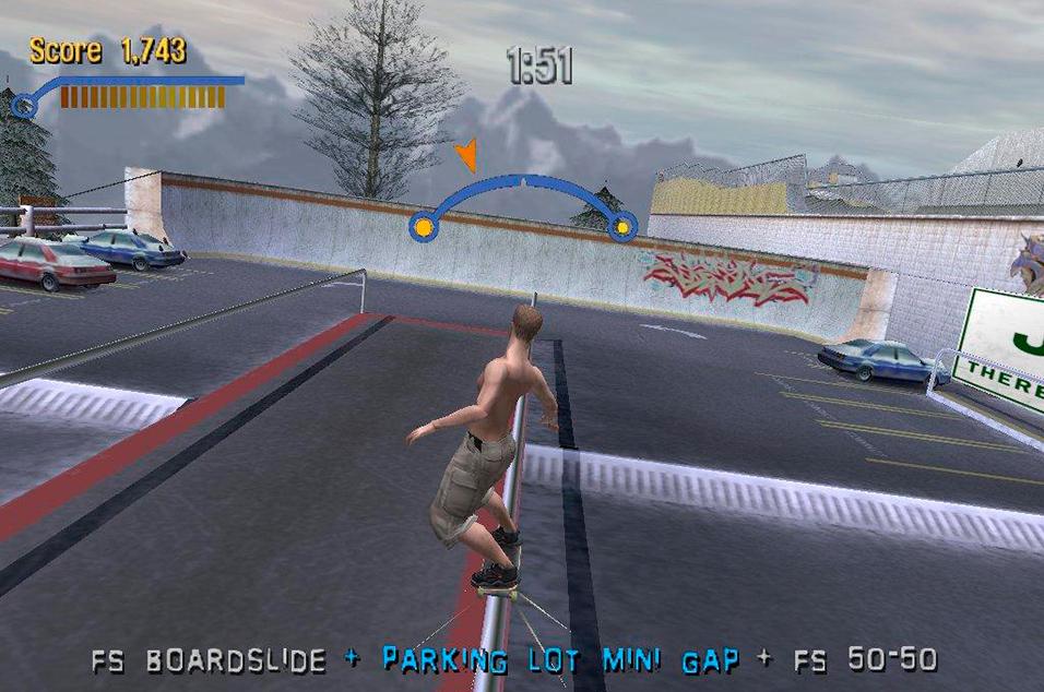<i>Tony Hawk's Pro Skater 2</i>