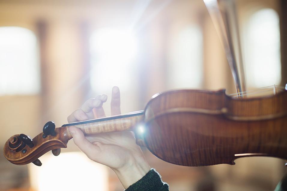 I is for Italian strings