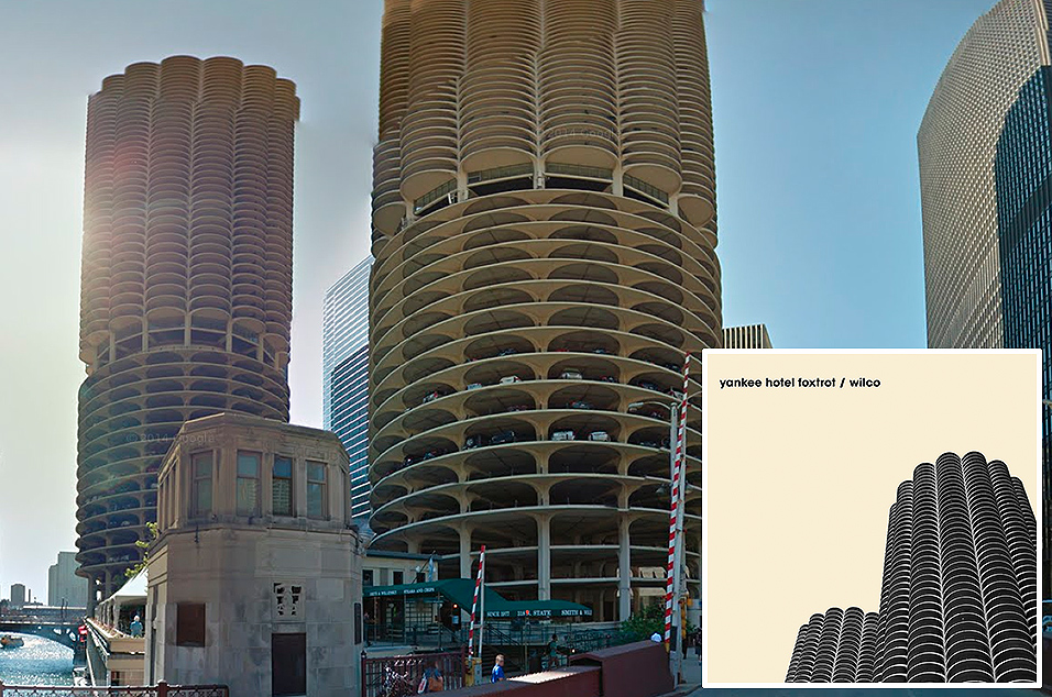 Wilco, 'Yankee Hotel Foxtrot' - Marina City Towers, Chicago