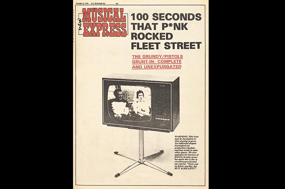 18. The Sex Pistols vs Bill Grundy - December 11, 1976