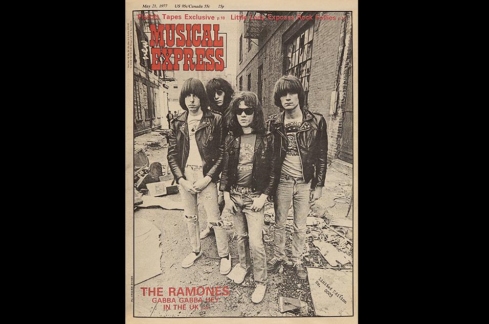 7. The Ramones - May 21, 1977