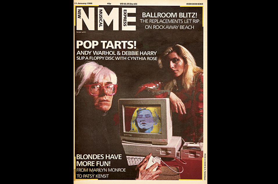 25. Debbie Harry and Andy Warhol - January 11, 1986