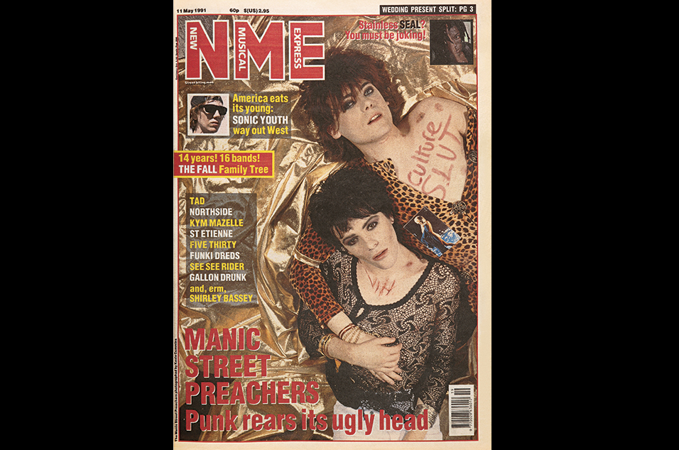 2. Manic Street Preachers - May 11, 1991